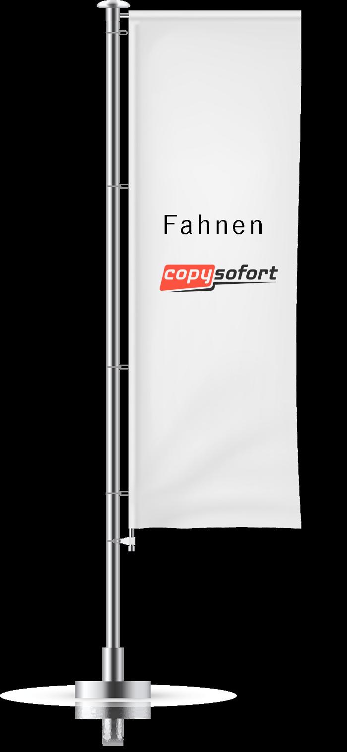 Fahne drucken Karlsruhe