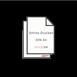 Online Drucken DIN A4