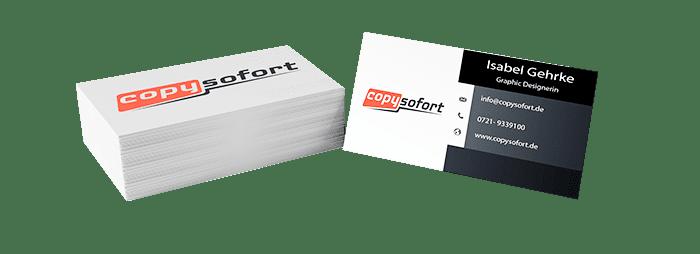 Visitenkarten- Mind. 6 Werktage - 300g/m² Papier