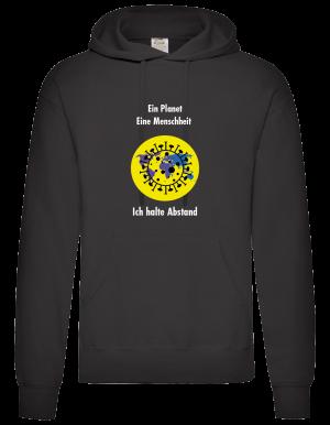 Coronavirus Schutz Pullover/Sweatshirt Männer Schwarz
