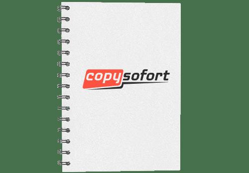 Copyshop Karlsruhe Abschlussarbeit drucken und binden Metallspirale